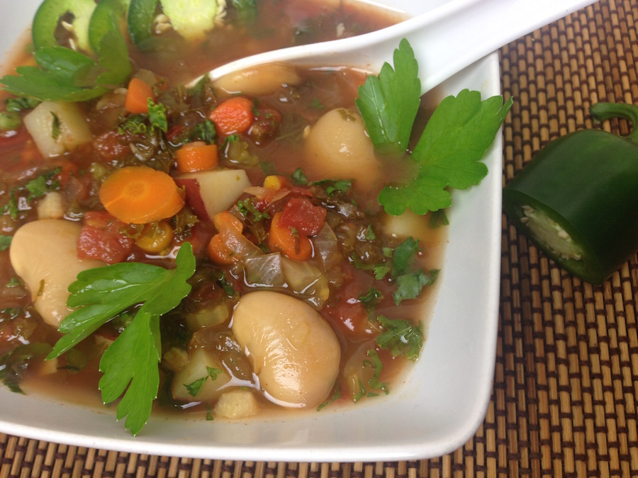 Hearty, Chunky Vegetable Soup